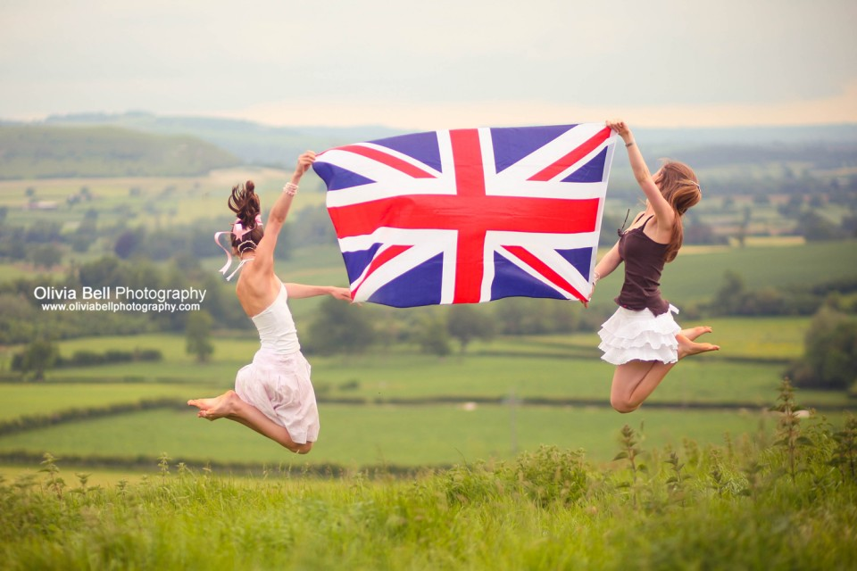 Union Jack Kite - Jump #84 of #100