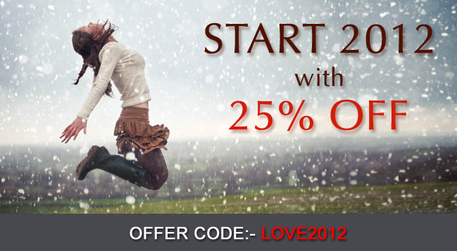 start2012nowfb The Bell Sisters, New Year 25% OFF Sale